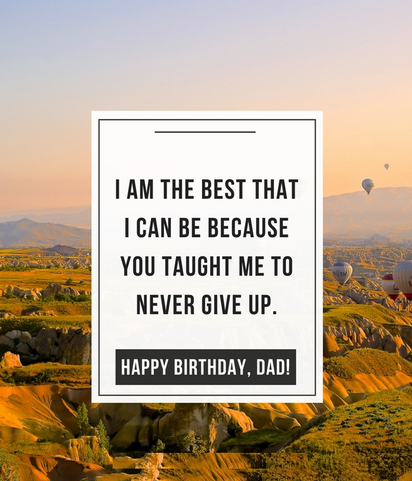 birthday wish to father