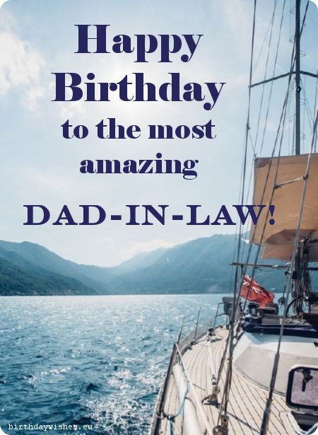 latest birthday wish for father in law