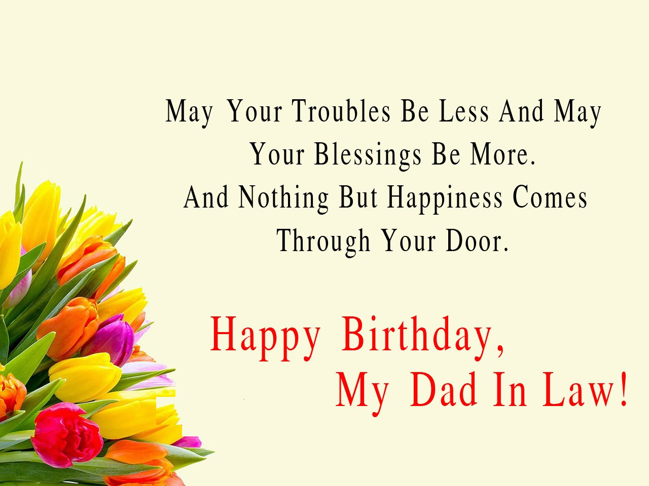 birthday wish for father in law
