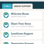 depression chat room