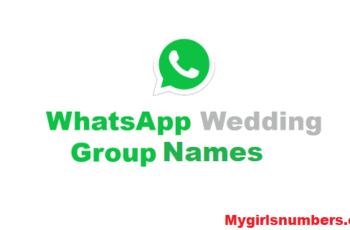 whatsapp group name for marriage