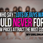 cheap girls quotes