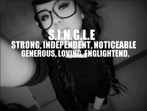 independent woman instagram single quotes